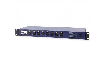 dmXLAN Node 8 - 2 Ports Ethernet 2 GigaBit & 8 Ports DMX isolés