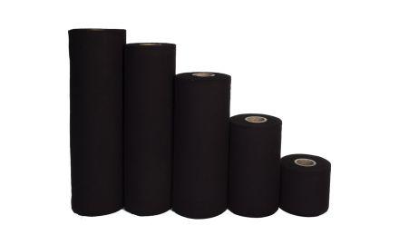 jupe de scène 100 cm x 60 m - noir