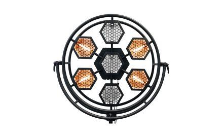 P1 Réflecteur doré