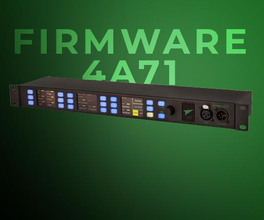 GreenGo FIRMWARE 4A71